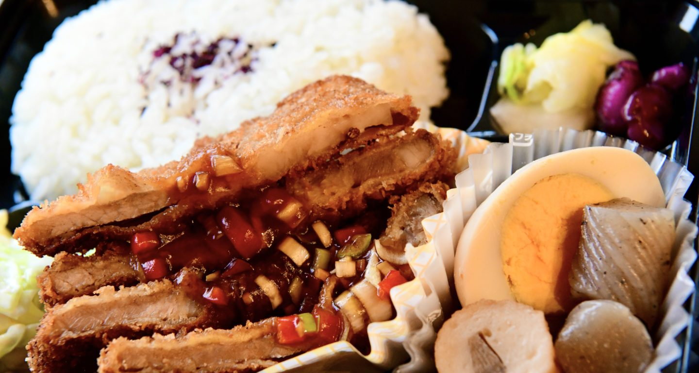 豚カツの中華ソース