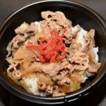 牛丼 サムネイル画像