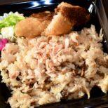 鮭ときのこの炊き込みご飯 サムネイル画像